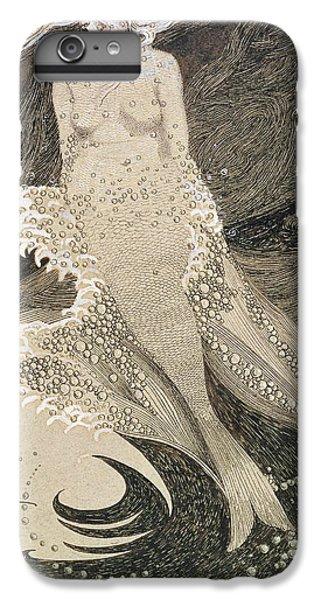 The Mermaid IPhone 6 Plus Case by Sidney Herbert Sime