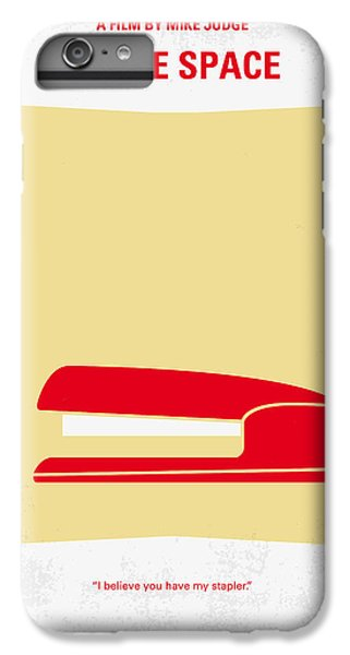 No255 My Office Space Minimal Movie Poster IPhone 6 Plus Case by Chungkong Art
