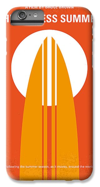 No274 My The Endless Summer Minimal Movie Poster IPhone 6 Plus Case by Chungkong Art