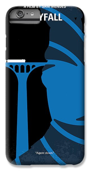 No277-007-2 My Skyfall Minimal Movie Poster IPhone 6 Plus Case by Chungkong Art