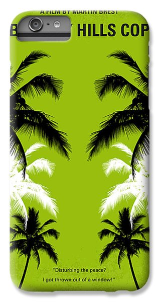 No294 My Beverly Hills Cop Minimal Movie Poster IPhone 6 Plus Case by Chungkong Art