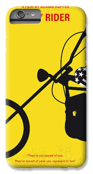 No333 My Easy Rider Minimal Movie Poster IPhone 6 Plus Case by Chungkong Art
