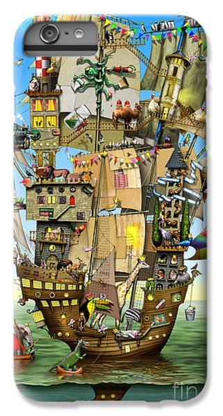 Norah's Ark IPhone 6 Plus Case by Colin Thompson