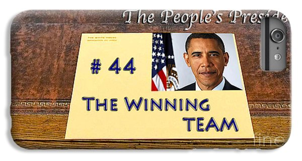 Number 44 - The Winning Team IPhone 6 Plus Case by Terry Wallace