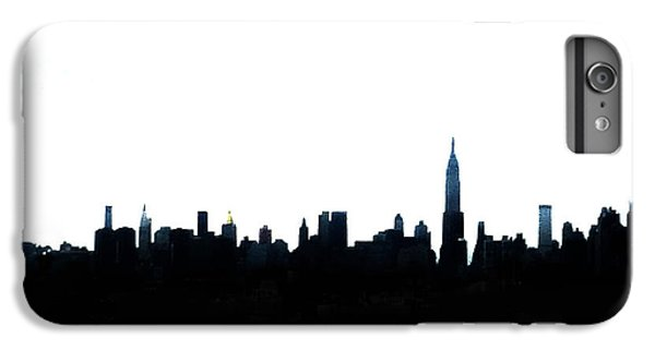 Nyc Silhouette IPhone 6 Plus Case by Natasha Marco