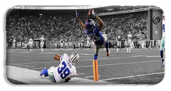 Odell Beckham Breaking The Internet IPhone 6 Plus Case by Brian Reaves