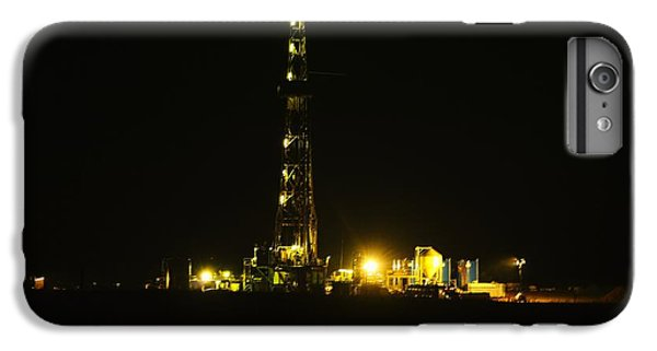 Oil Rig IPhone 6 Plus Case by Jeff Swan