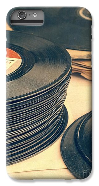 Old 45s IPhone 6 Plus Case by Edward Fielding