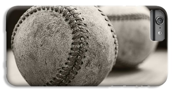 Old Baseballs IPhone 6 Plus Case by Edward Fielding
