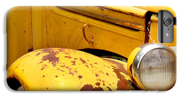 Old Yellow Truck IPhone 6 Plus Case by Art Block Collections