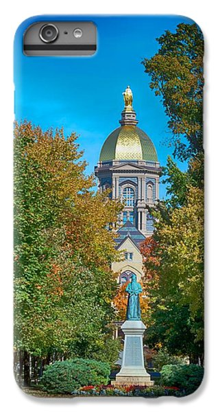 On The Campus Of The University Of Notre Dame IPhone 6 Plus Case by Mountain Dreams