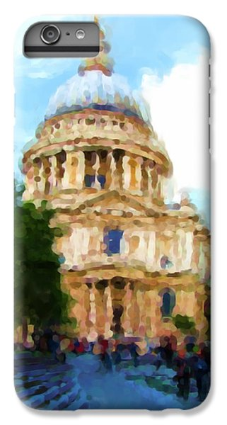 On The Steps Of Saint Pauls IPhone 6 Plus Case by Jenny Armitage