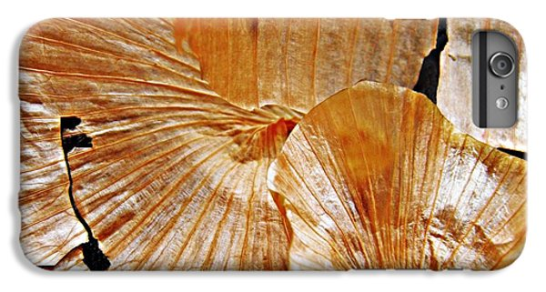 Onion Skin Abstract IPhone 6 Plus Case by Sarah Loft