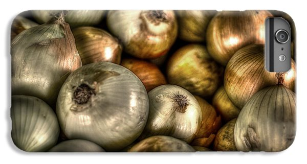 Onions IPhone 6 Plus Case by David Morefield
