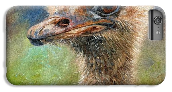 Ostrich IPhone 6 Plus Case by David Stribbling