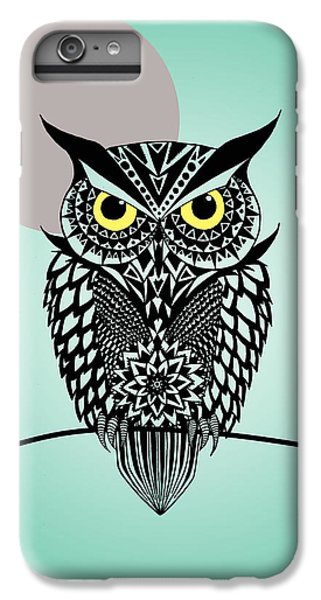 Owl 5 IPhone 6 Plus Case by Mark Ashkenazi