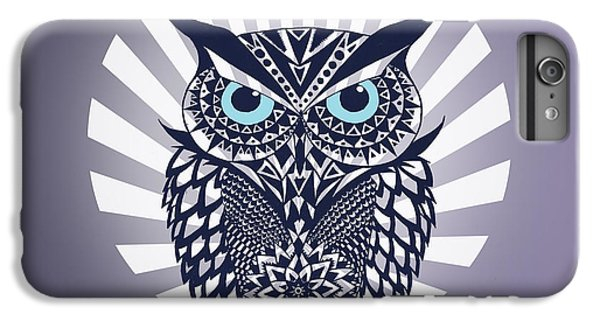 Owl IPhone 6 Plus Case by Mark Ashkenazi