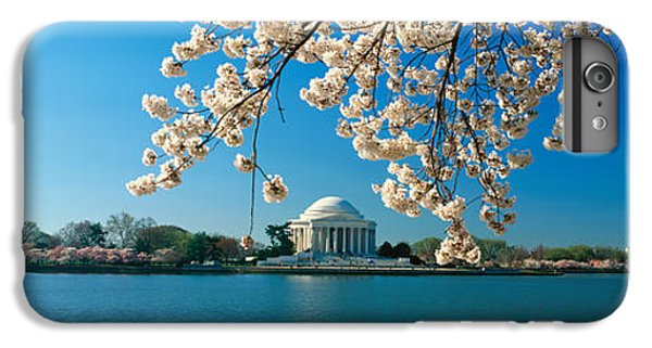 Panoramic View Of Jefferson Memorial IPhone 6 Plus Case by Panoramic Images