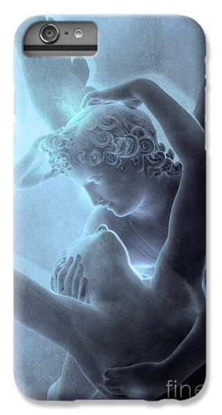 Paris Eros And Psyche - Louvre Sculpture - Paris Romantic Angel Art Photography IPhone 6 Plus Case by Kathy Fornal
