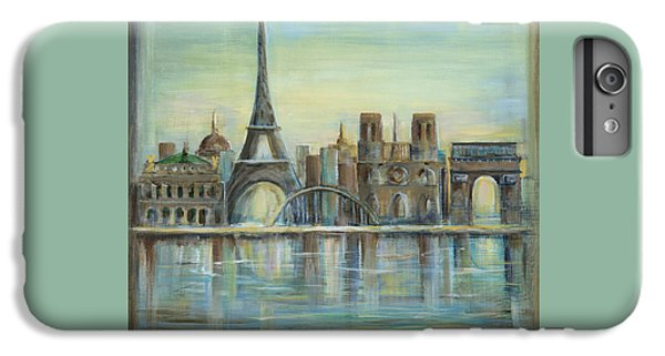 Paris Highlights IPhone 6 Plus Case by Marilyn Dunlap