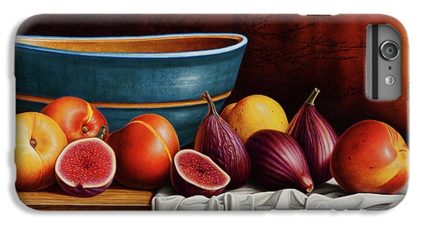 Peaches And Figs IPhone 6 Plus Case by Horacio Cardozo