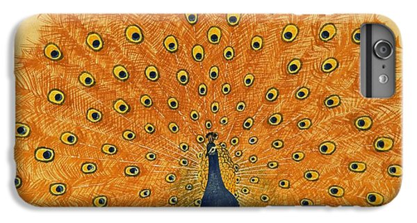 Peacock IPhone 6 Plus Case by English School