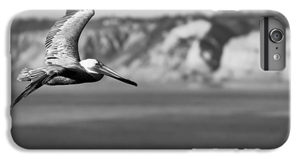 Pelican In Black And White IPhone 6 Plus Case by Sebastian Musial