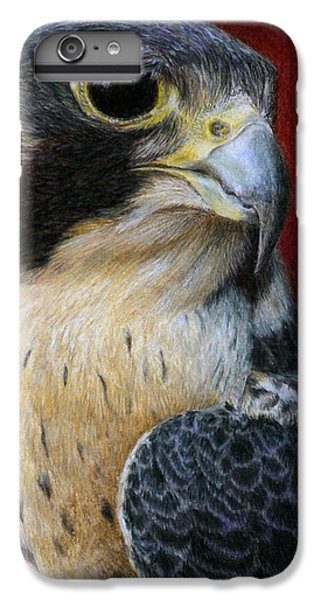 Peregrine Falcon IPhone 6 Plus Case by Pat Erickson