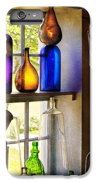 Pharmacy - Colorful Glassware  IPhone 6 Plus Case by Mike Savad