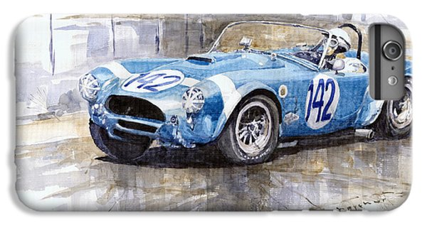 Phil Hill Ac Cobra-ford Targa Florio 1964 IPhone 6 Plus Case by Yuriy Shevchuk