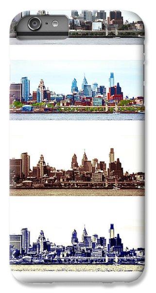Philadelphia Four Seasons IPhone 6 Plus Case by Olivier Le Queinec