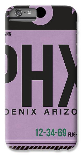 Phoenix Airport Poster 1 IPhone 6 Plus Case by Naxart Studio