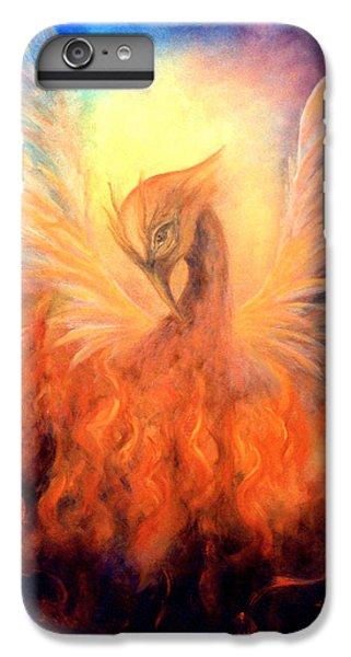 Phoenix Rising IPhone 6 Plus Case by Marina Petro