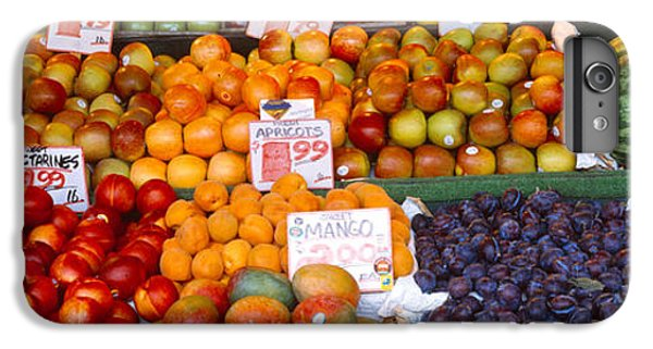 Pike Place Market Seattle Wa Usa IPhone 6 Plus Case by Panoramic Images