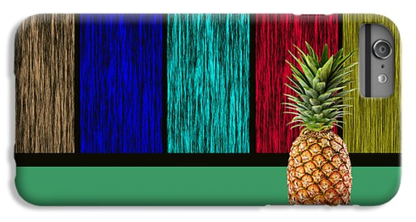 Pineapple IPhone 6 Plus Case by Marvin Blaine