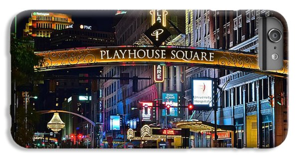 Playhouse Square IPhone 6 Plus Case by Frozen in Time Fine Art Photography