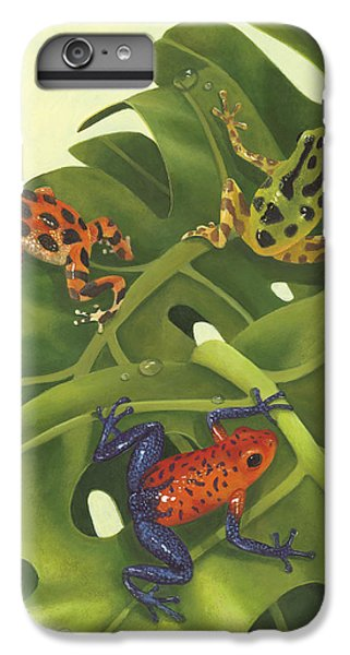 Poison Pals IPhone 6 Plus Case by Laura Regan