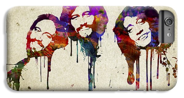 Portrait Of The Bee Gees IPhone 6 Plus Case by Aged Pixel