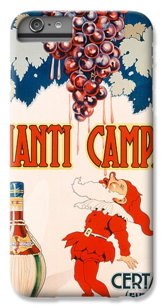 Poster Advertising Chianti Campani IPhone 6 Plus Case by Necchi
