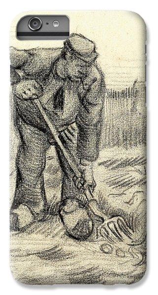 Potato Gatherer IPhone 6 Plus Case by Vincent Van Gogh