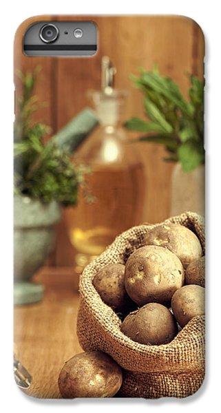 Potatoes IPhone 6 Plus Case by Amanda Elwell