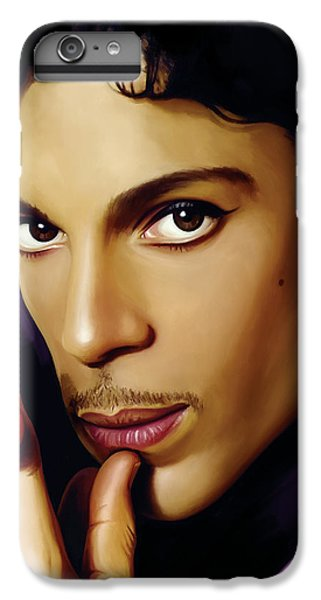 Prince Artwork IPhone 6 Plus Case by Sheraz A