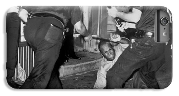 Protester Clubbed In Harlem IPhone 6 Plus Case by Underwood Archives