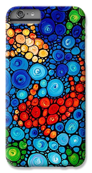 Pure Koi Joi IPhone 6 Plus Case by Sharon Cummings