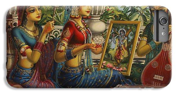 Purva Raga IPhone 6 Plus Case by Vrindavan Das