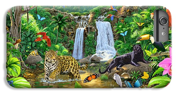 Rainforest Harmony Variant 1 IPhone 6 Plus Case by Chris Heitt