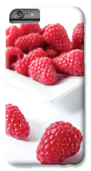 Raspberries IPhone 6 Plus Case by Aberration Films Ltd