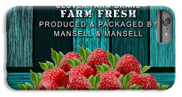 Raspberry Farm IPhone 6 Plus Case by Marvin Blaine