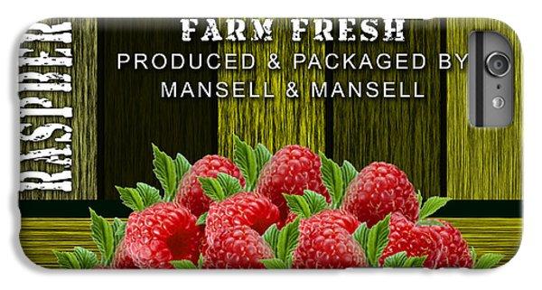 Raspberry Fields IPhone 6 Plus Case by Marvin Blaine