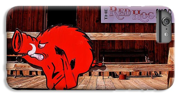 Razorback Country IPhone 6 Plus Case by Benjamin Yeager